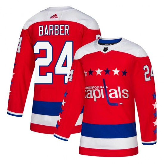 Riley Barber Washington Capitals Youth Authentic Alternate Adidas Jersey - Red